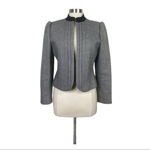 Vintage SASSON Wool Tweed Blazer Jacket